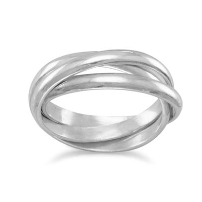 Picture of 3mm 3 Band Rolling Ring