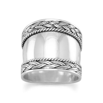 Picture of Bali Ring with Braided Edge
