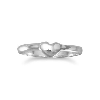 Picture of Baby Ring with Heart