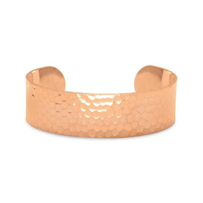 Picture of 19mm Hammered Solid Copper Cuff Bracelet