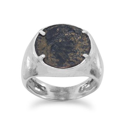 Picture of Ancient Roman Coin Ring